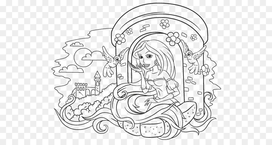Download princesa rapunzel para colorear clipart Rapunzel Drawing ...