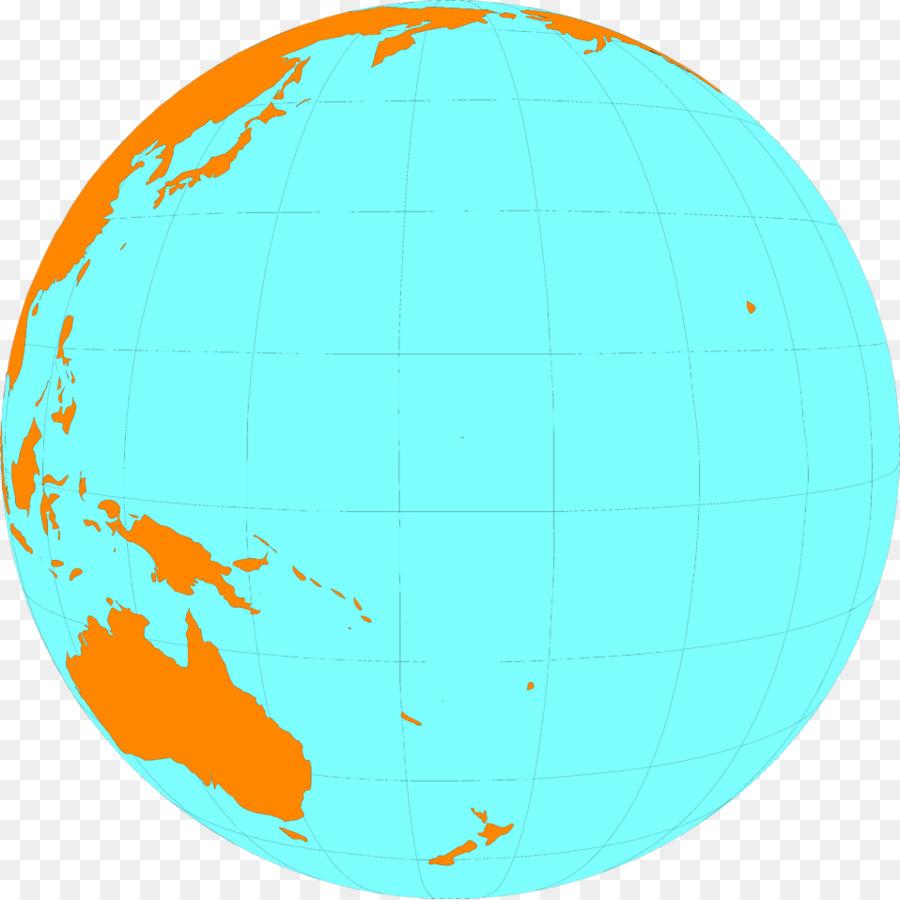 Ocean pacific. Earth map clipart globe