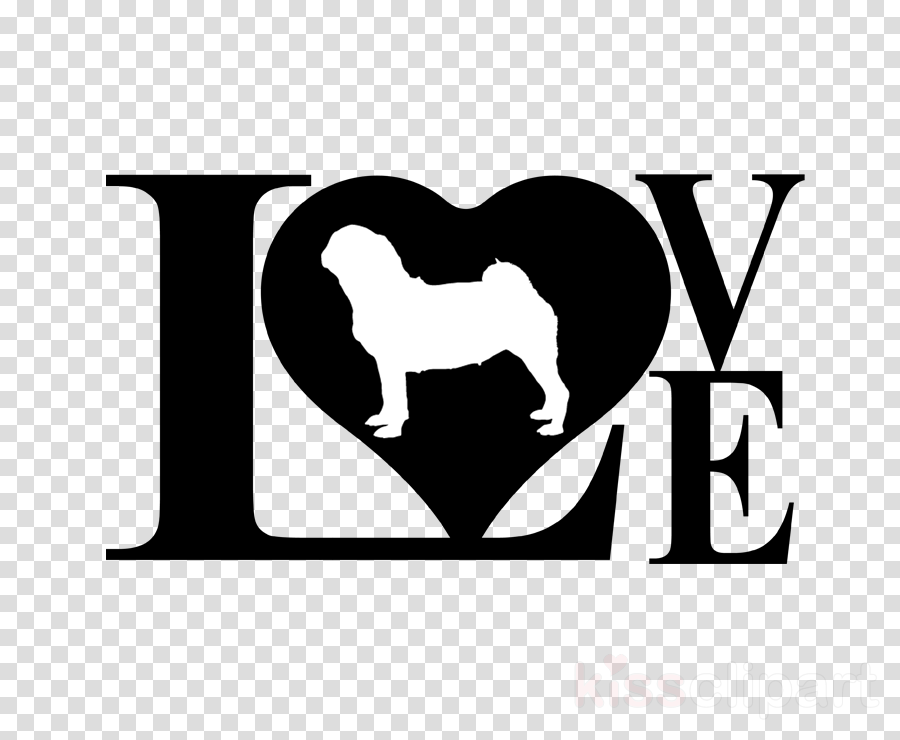 pit bull love pillow case clipart American Pit Bull Terrier