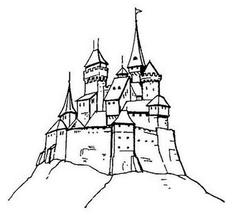 Download Harry Potter Castle Coloring Pages Clipart Elsa Coloring - Elsa-coloring-book