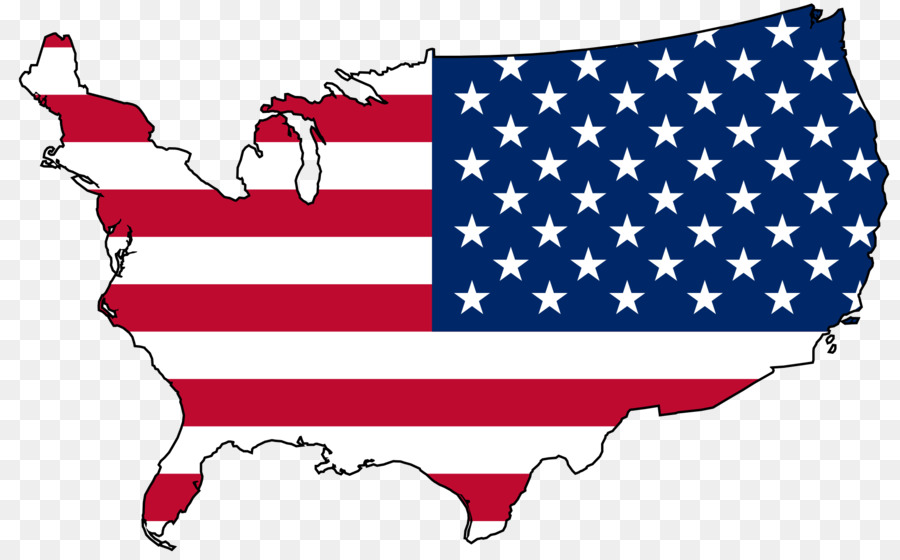 Map Of America Clipart.Map Red Flag Transparent Png Image Clipart Free Download