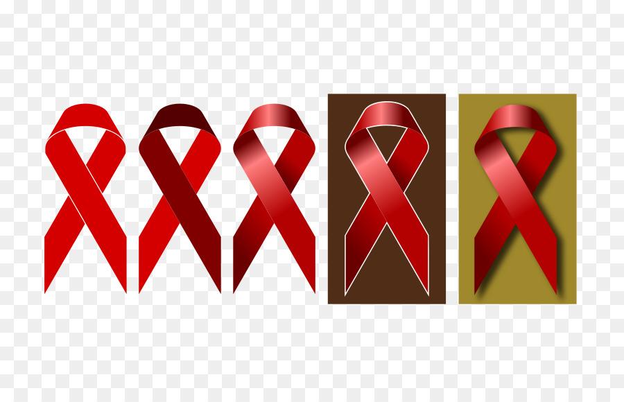 Red ribbon clipart Red ribbon Awareness ribbon Pink ribbon
