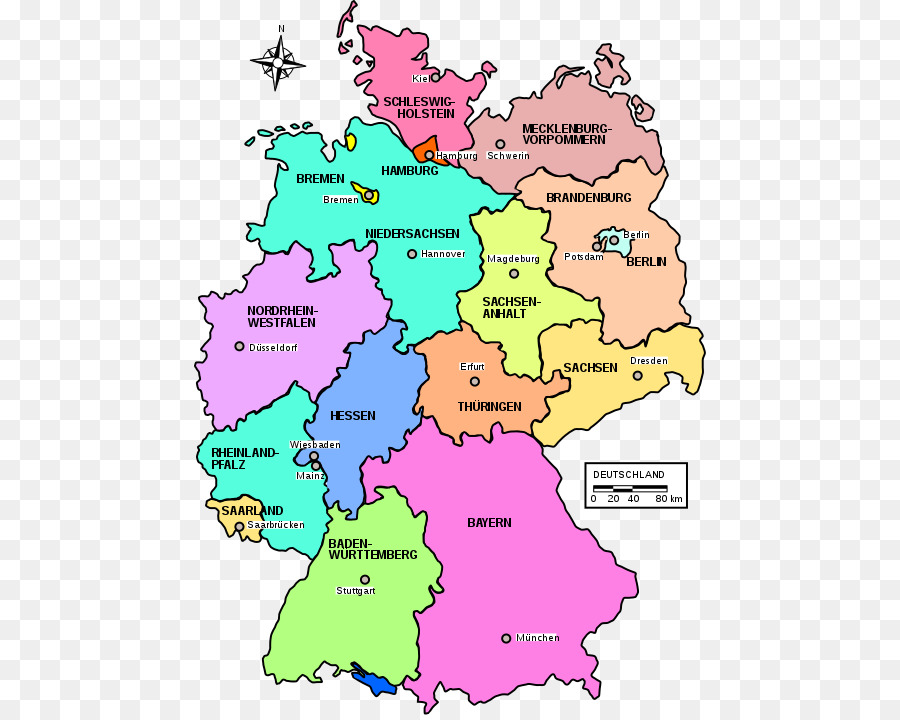 Map Of States Of Germany.City Backgroundtransparent Png Image Clipart Free Download