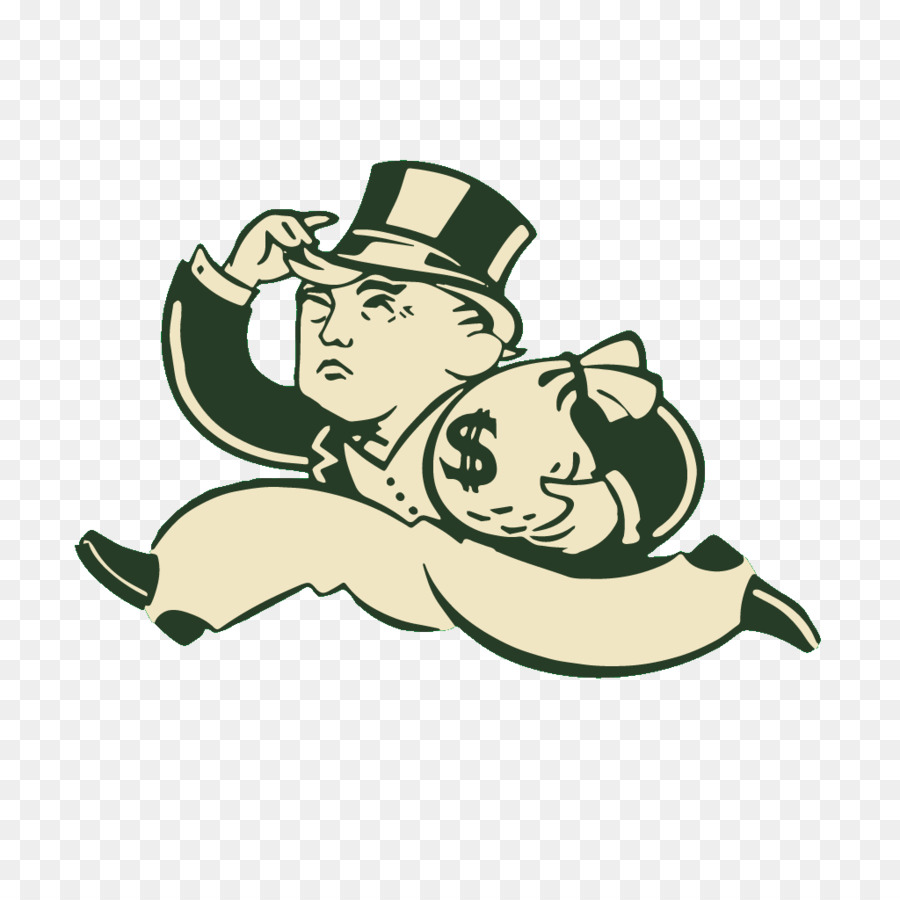 monopoly man running with money clipart Rich Uncle Pennybags Monopoly Board game