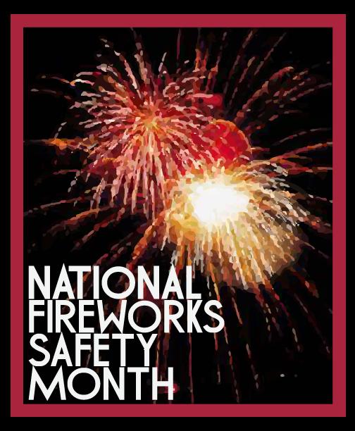New Year Fireworks Cartoon