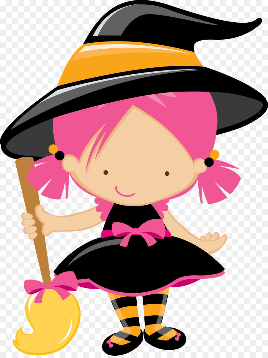 Halloween Witch Hat Clipart Halloween Clothing Black Transparent Clip Art