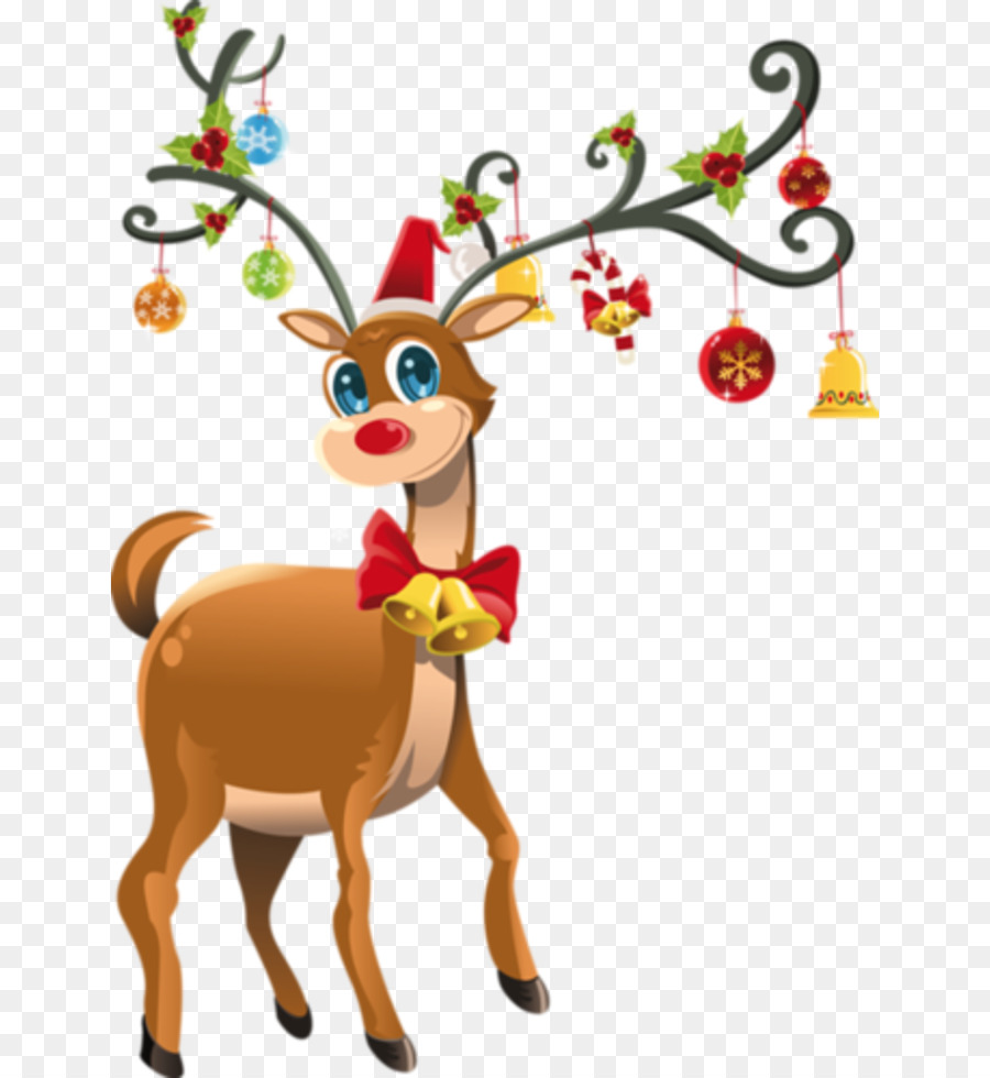 Christmas Clipart Transparent.Christmas Tree Branch Clipart Reindeer Deer Graphics