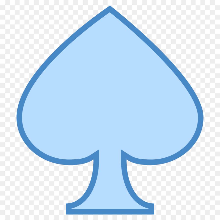 blue spade card  Card Background clipart - Blue, Font, Graphics, transparent ...