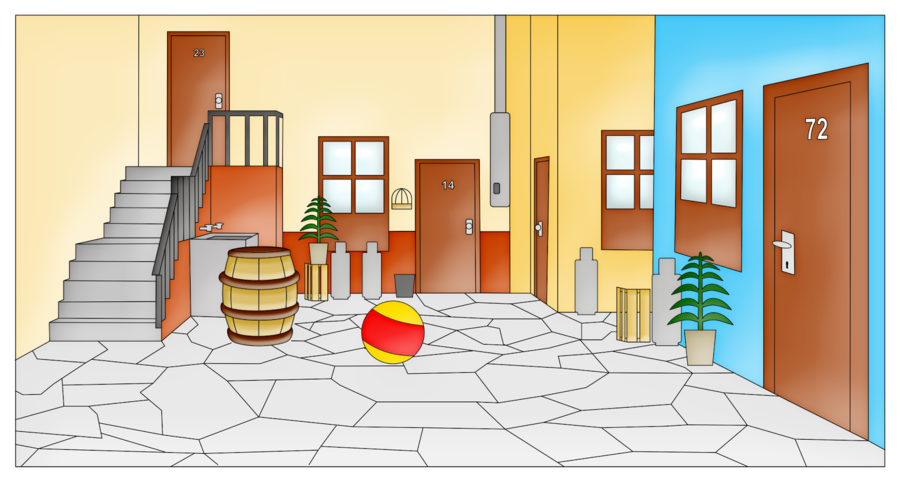 Real Estate Background Clipart Home Floor House Transparent