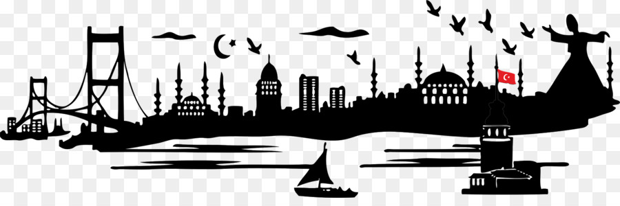 silhouette istanbul clipart Istanbul Silhouette Drawing