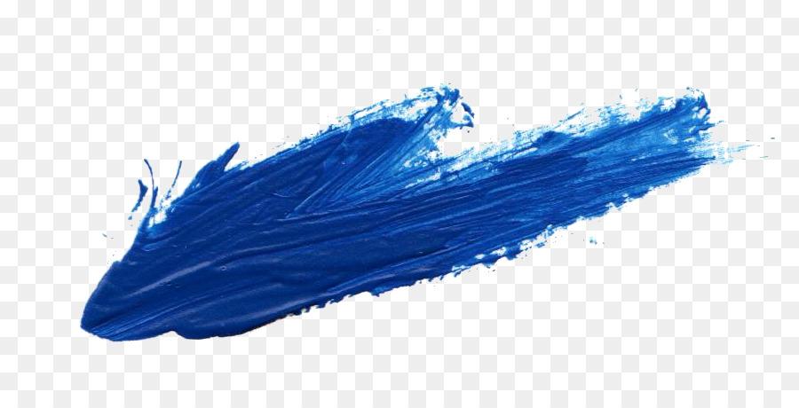 Paint Brush Stroke Clipart Blue Brush Stroke Transparent Clip Art