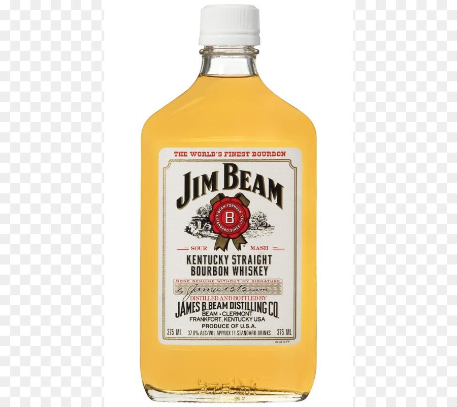 jim beam 375ml clipart Bourbon whiskey Liquor