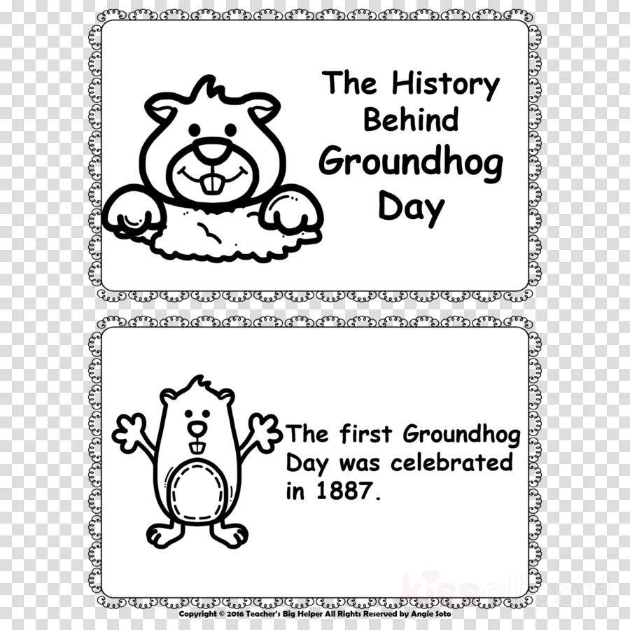 groundhog day printables clipart Paper Cat Human behavior