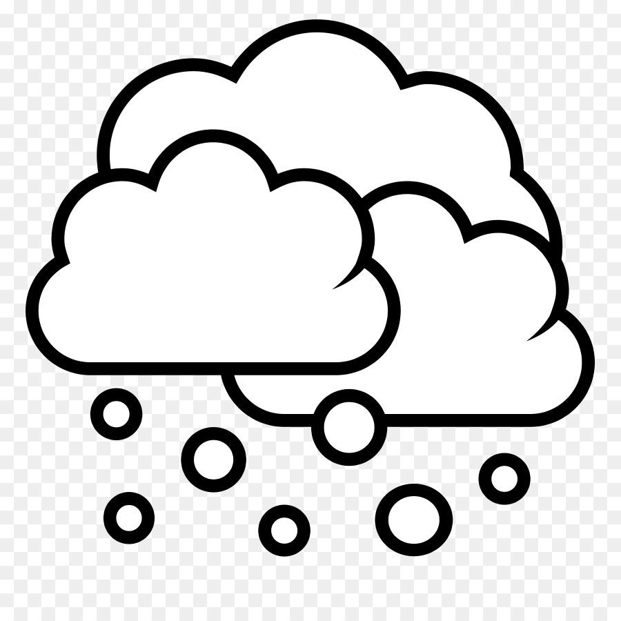 Snow black. Cloud clipart graphics illustration
