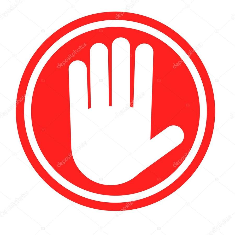 Download Stop Hand Sign Free Clipart Stop Sign Clip Art Red Text