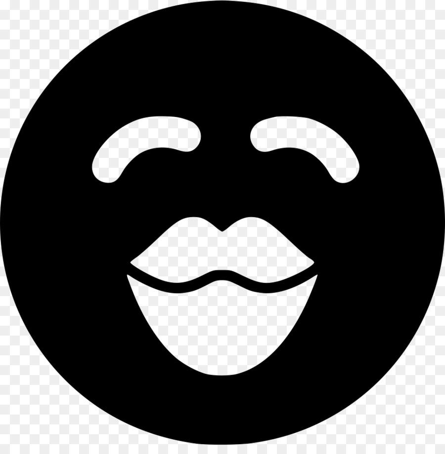 Smiley Face Background Clipart Face Black Smile Transparent
