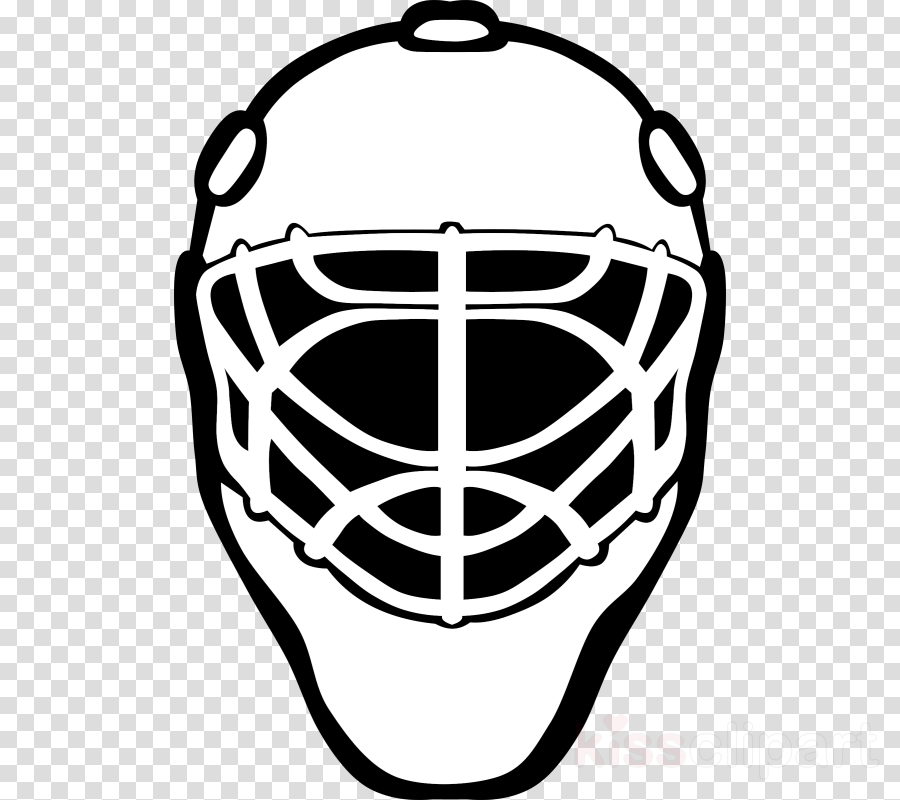 Hockey Mask Line Transparent Image Clipart Free Download
