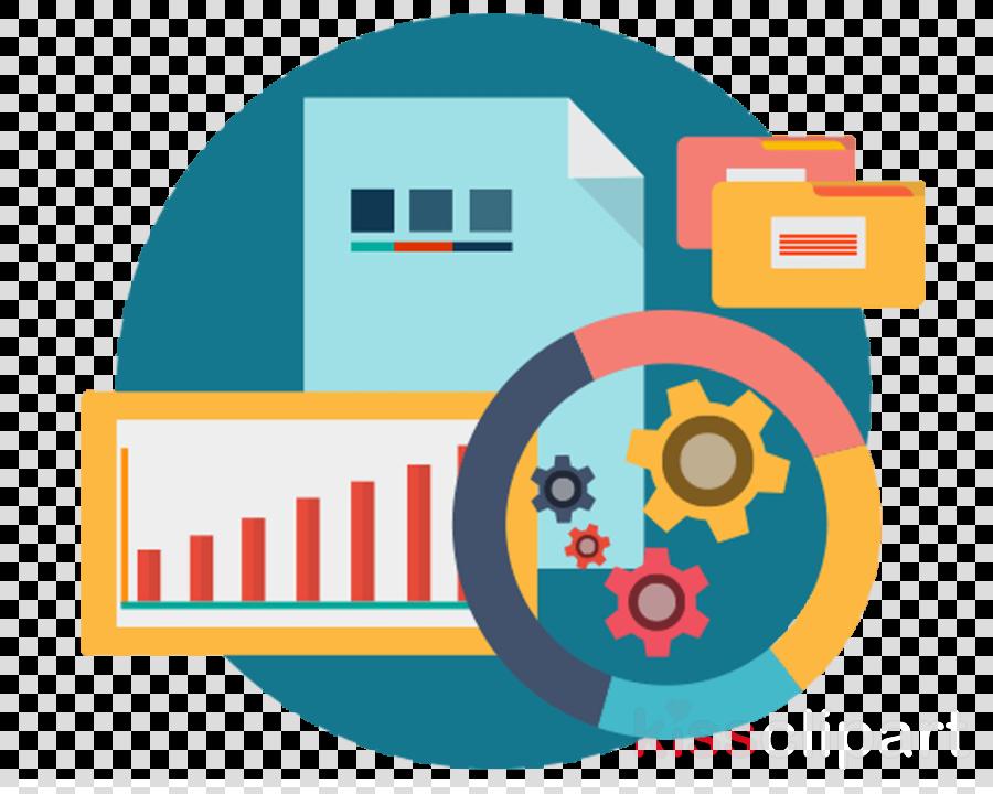 Data management clipart Management Data analysis Information technology