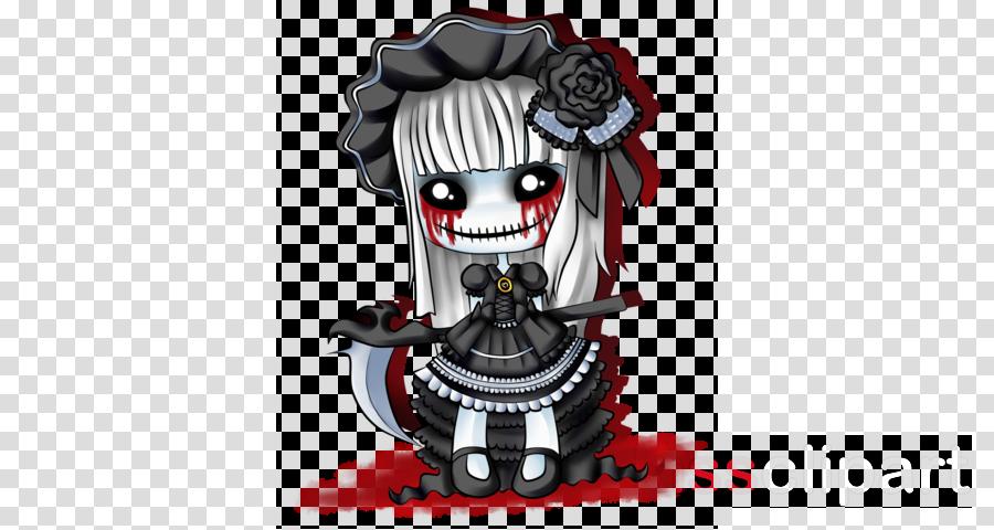 creepy doll clipart Doll Drawing Clip art