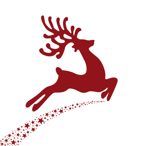 Free Christmas Deer Clip Art with No Background - ClipartKey
