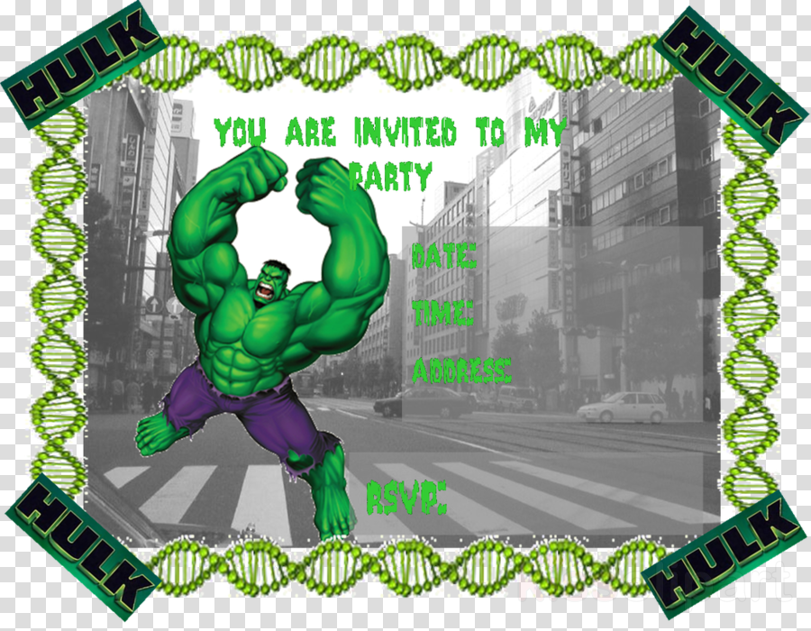Hulk Invitations Free Printable Clipart Birthday Party