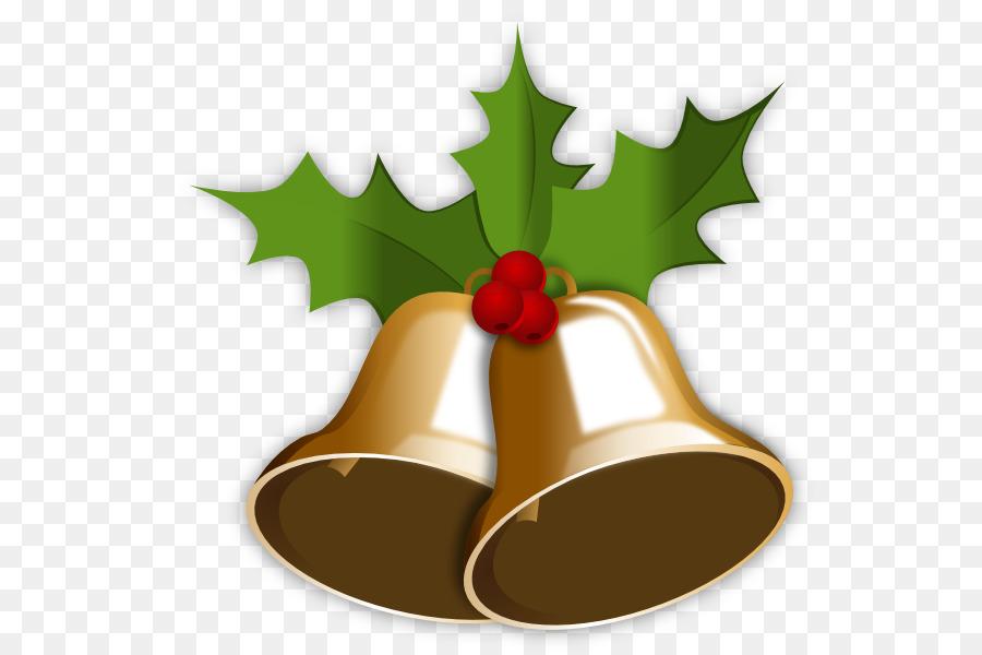 Christmas Holly Cartoon.Christmas Bell Cartoon Clipart Christmas Tree Fruit