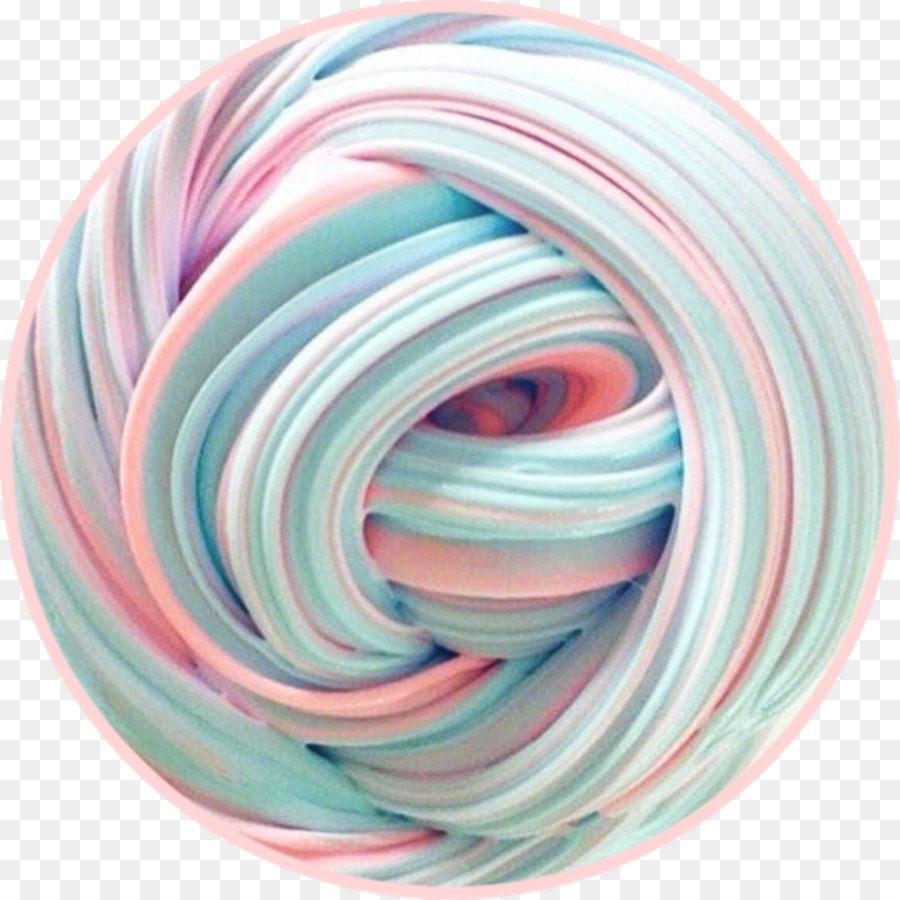 cotton candy slime clipart Cotton candy Slime Toy