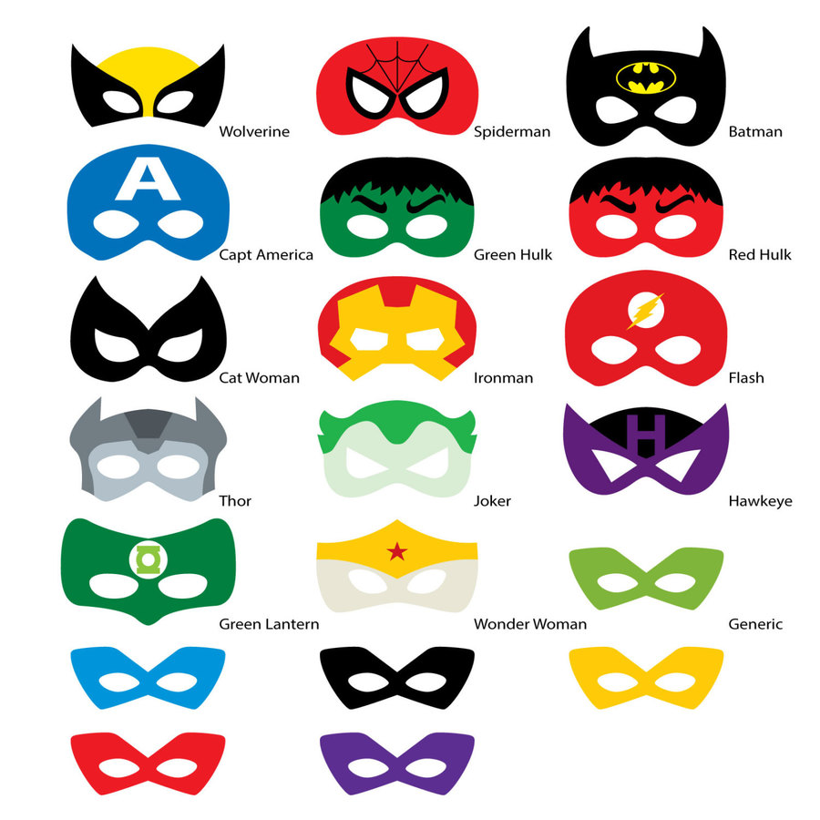 image about Free Printable Superhero Photo Booth Props identified as Clipart answer 1500*1500 - cost-free printable image booth