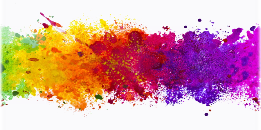 splash of colour clipart Color theory Paint