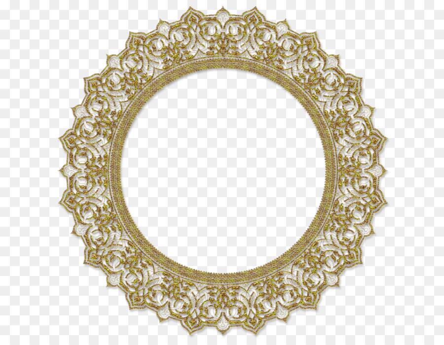 Circle Background Frame