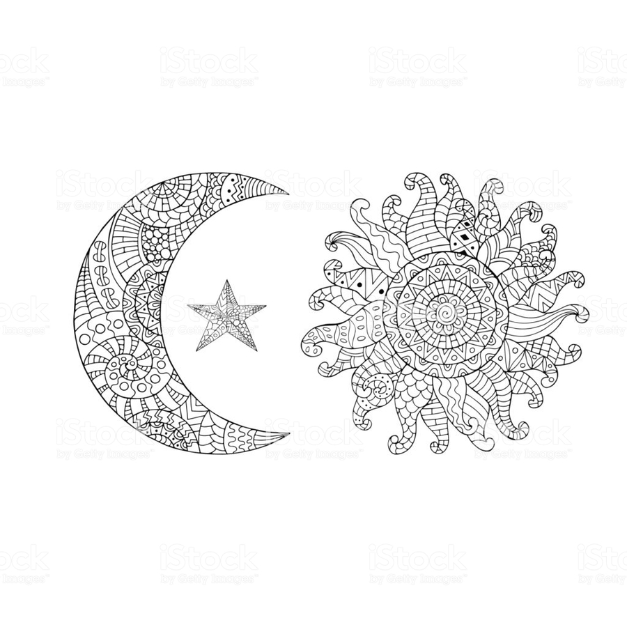 Download sun zentangle clipart Colour Therapy Zentangle ...
