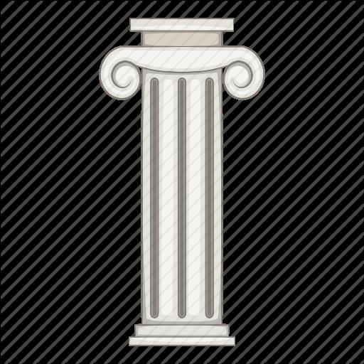 pillar vector clipart Column
