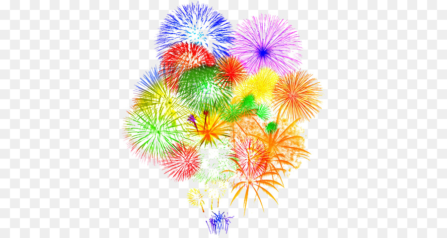 Birthday Party Background Clipart Fireworks Party Birthday Transparent Clip Art
