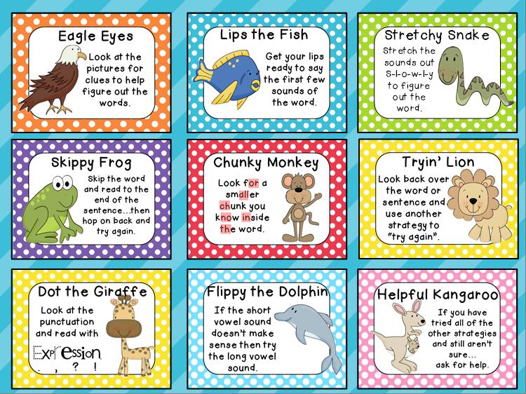 beanie baby reading strategies clipart Beanie Babies Reading