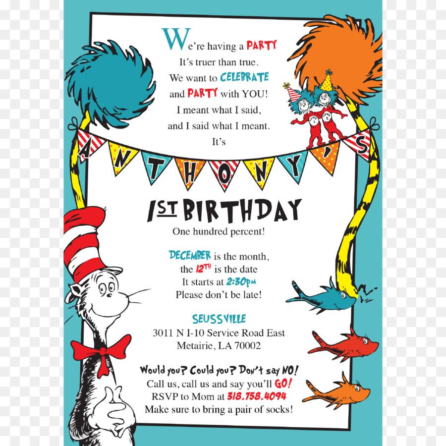 Birthday Party Invitation Clipart Birthday Text Line