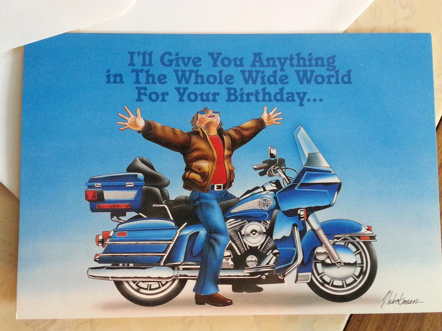 Happy Birthday Motorcycle Clipart Clip Art
