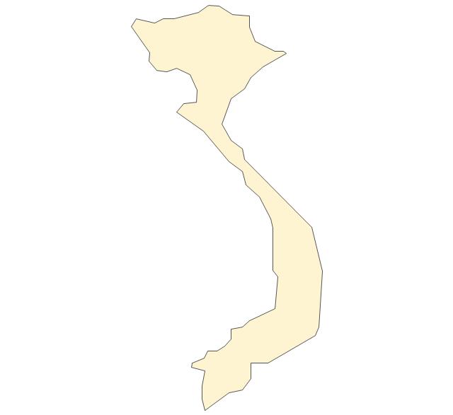 Download vietnam map outline png clipart Vietnam Clip art