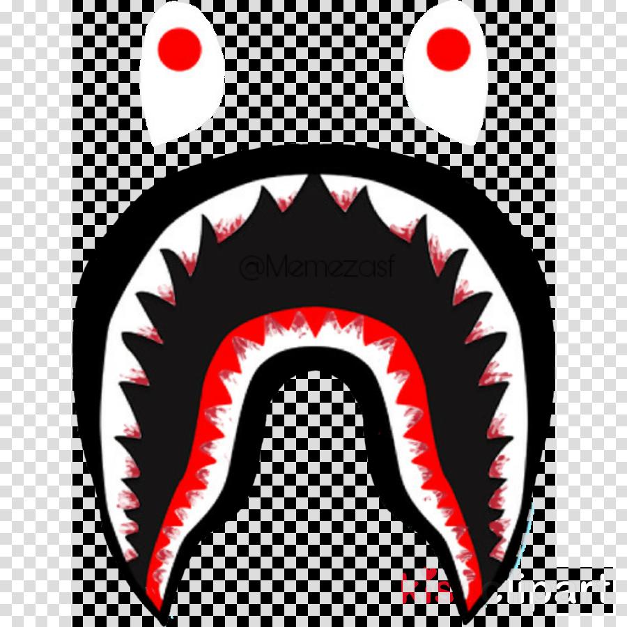 bape shark logo clipart A BATHING APE PIRATE STORE T-shirt
