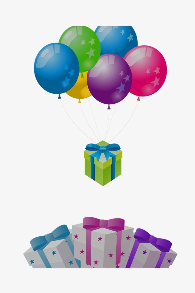 Happy Birthday Balloons Clipart Balloon Gift Clip Art