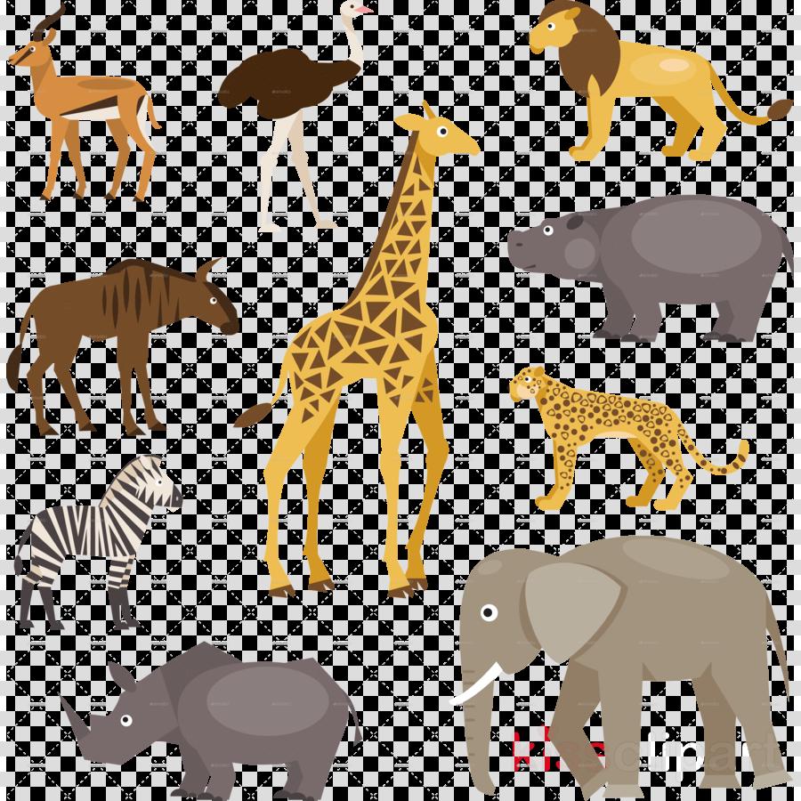 Giraffe Illustration Lion Transparent Png Image Clipart Free