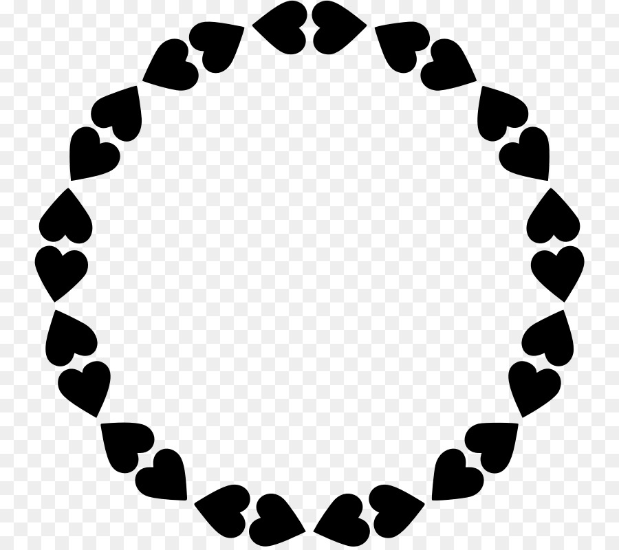 simple decorative circle clipart Clip art