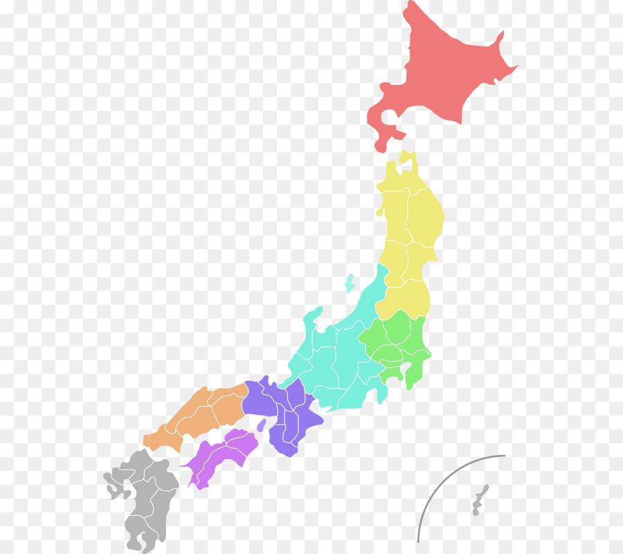 japan map colour clipart Japan Map Clip art