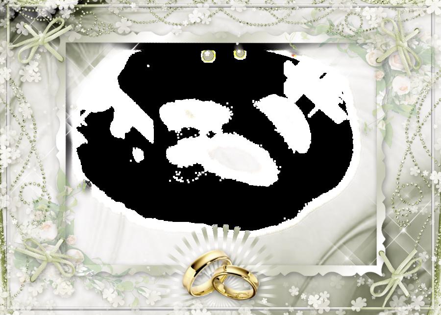Wedding Background Frame Clipart Wedding Frame White Transparent Clip Art