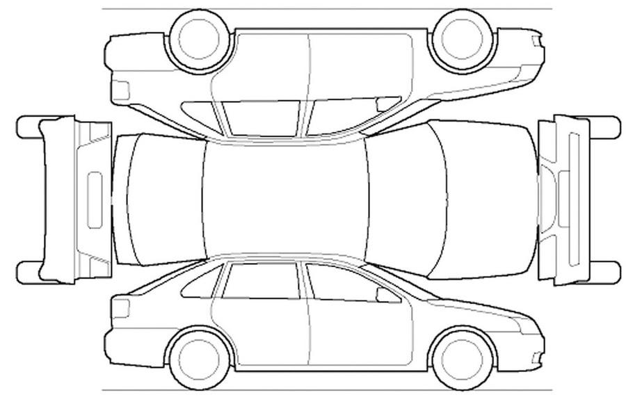Vehicle Damage Report Template Clipart Car Van