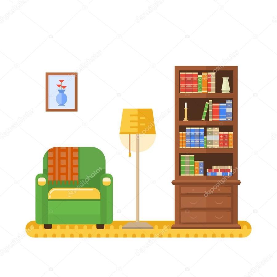Download Living Room Clipart Illustration Furniture