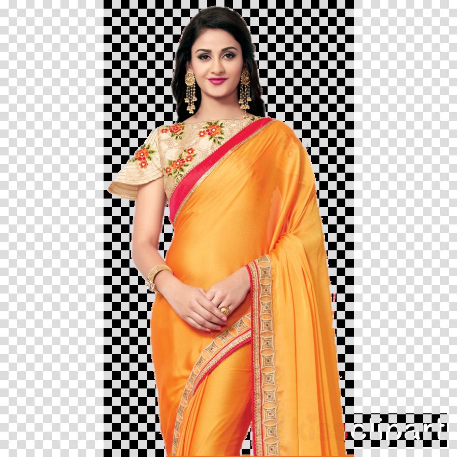 saree png clipart Wedding sari Banarasi sari