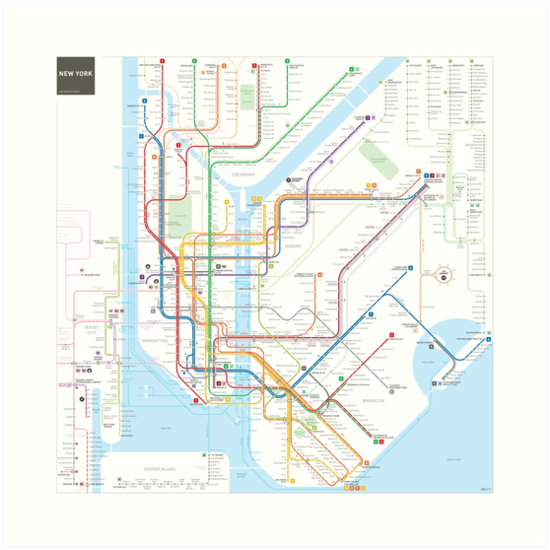 New York Subway Map Puzzle.Map Plan Line Transparent Png Image Clipart Free Download
