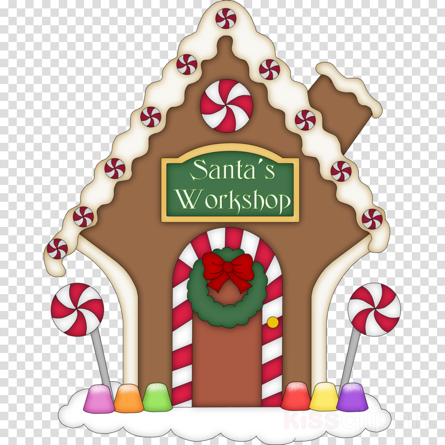 gingerbread house clipart Gingerbread house Candy Clip art