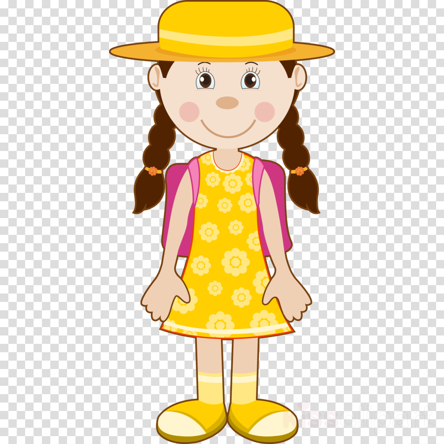 Back To School Background Yellow