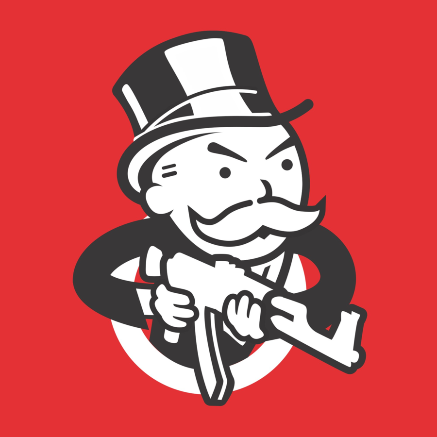 monopoly logo clipart Monopoly Rich Uncle Pennybags Board game